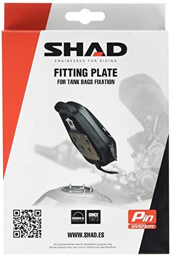 SHAD X022PS, Black, no