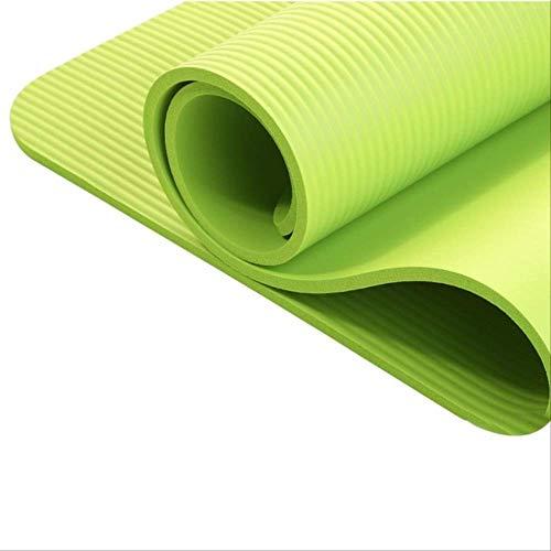 NoNo duurzame yogamat oefenpad dikke antislip vouwgym fitness mat pilates levert niet-skid vloer speelmat legergroen