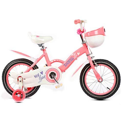 MUYU BMX Fietsen Kid Bikes Kinderen Fiets voor Meisje en Jongen 4-12 Inch met Verwijderbare Training Wielen