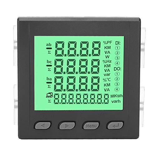 3 Phasen Multifunktions Leistungsmesser, LED Anzeige Digitaler Strom Spannungsmesser Multimeter RS485 Kommunikation 220V