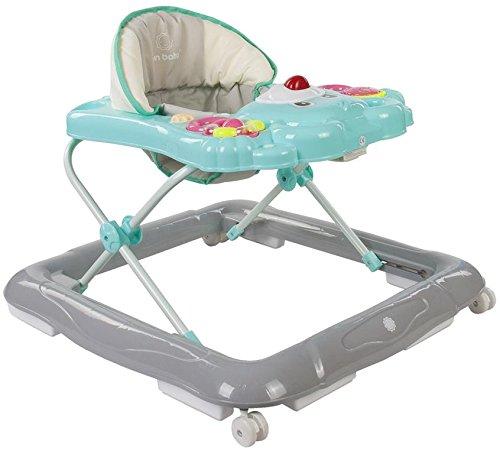 Sun Baby Bear - Andador para bebé con carritos de bebé, color turquesa y gris