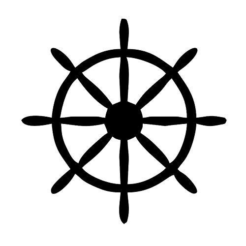 Etiqueta de la calcomanía de la rueda del barco Yate Velero Bolsa...