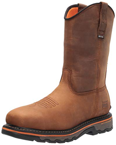 Timberland PRO Men's Pull-On Work Boots Industrial, Brown Earth Bandit, 9.5 Wide