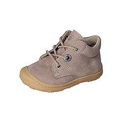 RICOSTA Unisex - Kinder Lauflern Schuhe Cory von Pepino, Weite: Mittel (WMS),terracare, leicht Kinder Kids Kinderschuhe,kies,21 EU / 5 Child UK