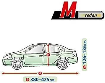 Pkwelt Universal Auto Abdeckung Vollgarage Autoplane L520 Van Größe 520 530 Zentimeter Wetterfest Uv Beständig Auto