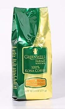 Greenwell Farms - 100% Kona Coffee - Full City Roast - 8oz - WHOLE BEAN