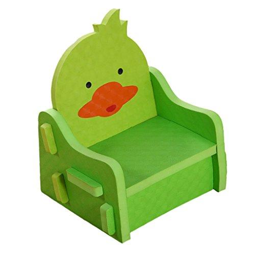 Baoblaze PE Schaum Kinderhocker Kinderstuhl DIY für Kinderzimmer Wohnzimmer - Grün