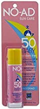 No-Ad Spf#50 Sunscreen Baby Stick (2 Pack)
