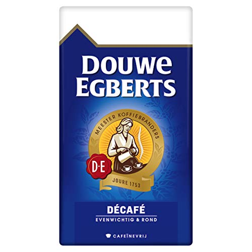 Douwe Egberts Filterkoffie Décafé (2 Kilogram, Intensiteit 05/09, Medium Roast Cafeïnevrije Koffie), 6 x 500 Gram