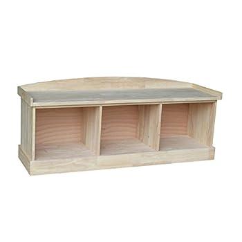 Best unfinished storage bench Reviews