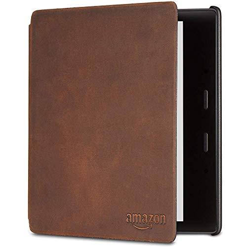 Étui en cuir de première qualité pour Kindle Oasis (10ème génération et 9ème génération uniquement)