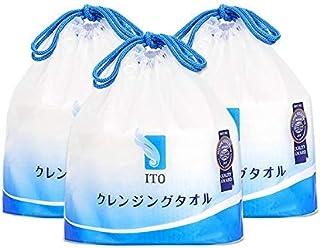 ITO Japan wegwerp-gezichtsdoeken, gezichtsdoeken, make-up remover pads, gevoelige huid, kinderdoeken, verpakking van 3 (80...