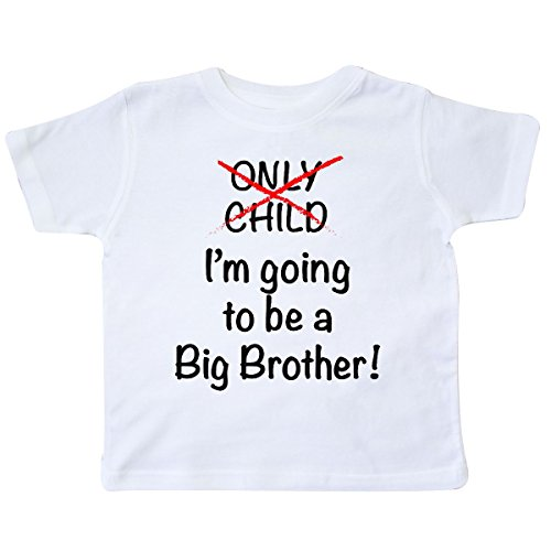 inktastic I'm Going to Be a Big Brother Toddler T-Shirt 2T White 18b1f