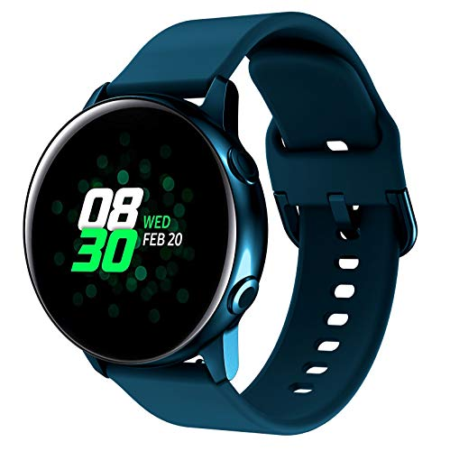 SUPORE Cinturino Galaxy Watch Active 40mm, Cinturini di Ricambio per Polso Silicone 20mm con Sgancio Rapido per Active 2   Gear S2 Classic Gear Sport Huawei Watch 2
