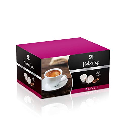 100 CAPSULE MOKA CUP .1 MISCELA INTENSO COMPATIBILE DOMO CAFFE'