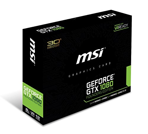 『MSI NVIDIA Pascalアーキテクチャー採用 GeForce GTX 1080搭載グラフィックボード GEFORCE GTX 1080 FOUNDERS EDITION』の1枚目の画像
