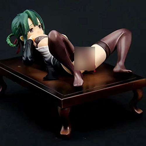 JIATONGL Chiaki Denai Desktop-Bondage Mädchen Limited Edition Illustration/Anime-Charakter Modell/PVC-Material Abbildung Statuen/Lieblings Ansammlung Otaku Und Anime Fans/Dekoartikel/erwachs