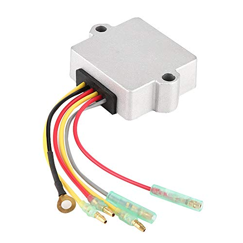 Regulador de Voltaje, 815279-3 883072T Regulador Rectificador de Voltaje de 6 Cables para Fueraborda Mariner