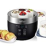 Greek Yogurt Maker Machine Bear, Automatic Digital Yogurt Maker with Timer & Temperature Control,...