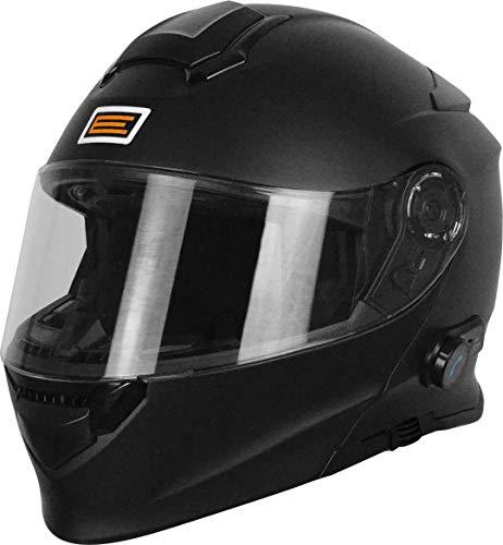 Origine Helmets 204271720100004 Delta Solid Matt Casco Apribile con Bluetooth Integrato, Nero, M