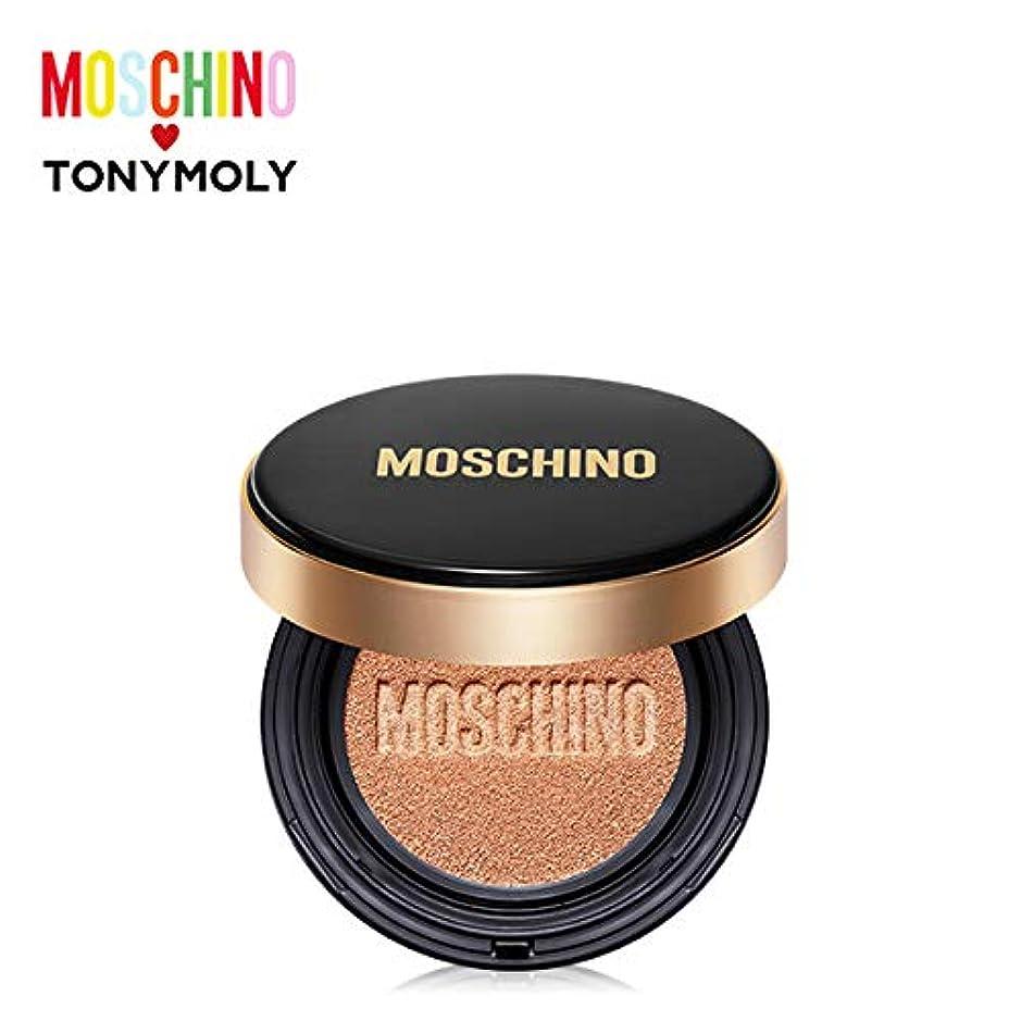 塩ベリアストロラーベトニーモリー [モスキーノ] ゴールドエディション シック スキン クッション 15g TONYMOLY [MOSCHINO Edition] Gold Edition Chic Skin Cushion #02 CHIC BEIGE [並行輸入品]
