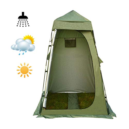 Pop Up Shower Tent, Toilet Tent Lightweight for Camping Caravan Picnic Fishing Beach Changing Room Shelter Canopy Travel Tents Portable