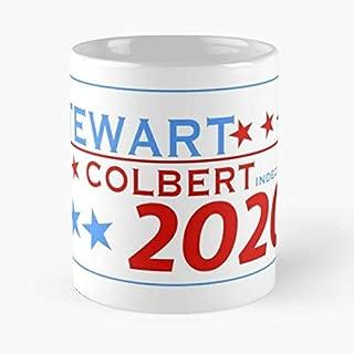 Jon Stewart Stephen Colbert 11 Oz Coffee Mugs Best Gift For Father Day