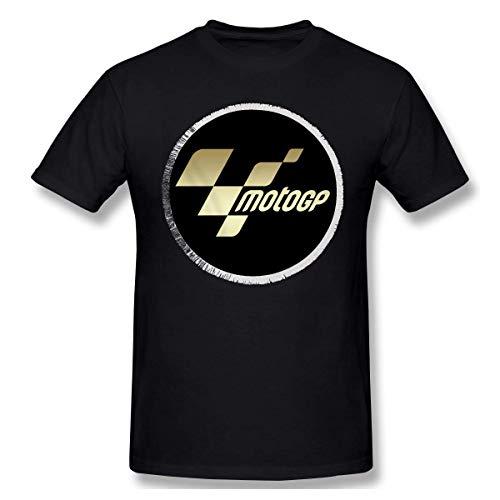 AOCCK Camisetas y Tops Hombre Polos y Camisas, Mens Vintage Moto GP T-Shirt Black