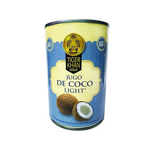 TIGER KHAN Leche de Coco Light 400ml