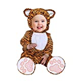 Disfraz Tigre Bebe,Toddler Disfraces Halloween Carnaval Traje Animales Ropa Pelele Cosplay 3PC