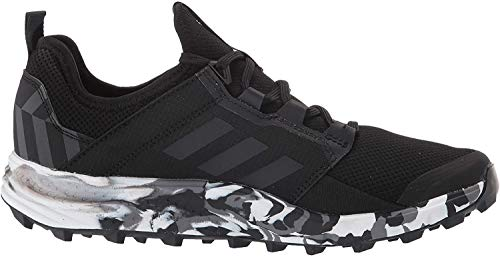 adidas outdoor Terrex Agravic Speed Plus Trail Running Shoe - Women's Black/Non-Dyed/Ash Grey, 7.0