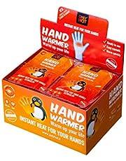Only Hot 624329 10-Uur Zelfverwarmende Handwarmers voor Unisex Adult 40 Paar Display Box, Een Maat, Rood