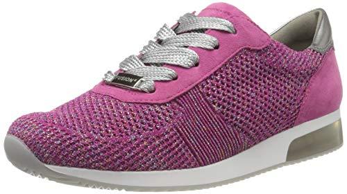 ara Damen LISSABON Sneaker, Rot (Candy, Pink/Zinn 09), 39 EU (6 UK)