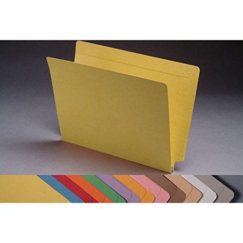 14PT 노란색 폴더 전체 컷 2 겹 끝 탭 편지 크기 1-1 | 2 확장(50 상자)