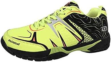 ACACIA HYPERSHOT Pickleball Outdoor/Indoor Court Shoes Men's Women's Unisex Lime/Black Color (Numeric_10)
