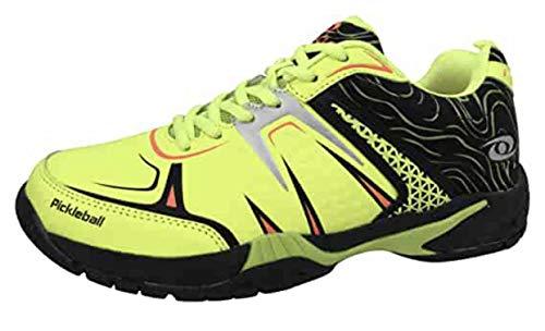 ACACIA DINKSHOT Pickleball Shoes, Lime/Black, 12