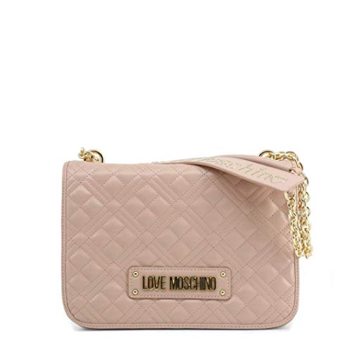 Moschino Borsa donna Love tracolla in ecopelle trapuntata colore rosa BS20MO49