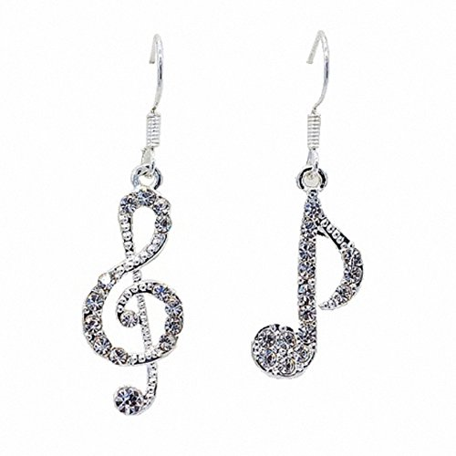 Atommy Music note Shape ear-nail elegante e elegante ciondolo orecchini selfie Just like a Fashion Magazine cover