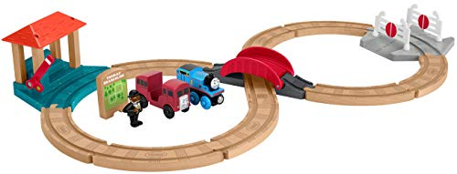 Thomas & Friends Wood, Racing Figure-8 Set, Multicolor, Standard
