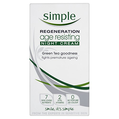 Simple Regeneration Age Resisting Night Cream 50 ml - Pack of 6