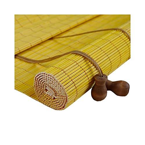 LXFBX Bambus Vorhang Vorhang Vorhang Verdunkelungsfilter Bambus Vorhang Jalousie, 100x120cm