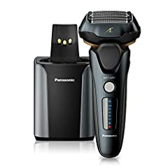 High-performance motor for a fast, powerful shave: Panasonic shaver with an ultra-fast motor and independent, five-blade shaving system deliver up to 70,000 cross cuts per minute to make everyday shaving quicker, smoother, and more efficient Flexible...