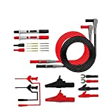 Multímetro Prueba del Kit de Plomo Test Cable Tips Setts Set P1300D Sonda reemplazable Set para Digital Multi MeterFor Home Office