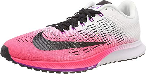 Nike Women's Training Running Shoes, Pink Racer Pink White Vivid Purple Black, 8