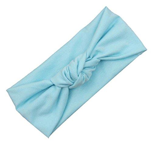 Fulltime(TM) Bébé Tout Filles Mignonnes Enfants Bow Headband Turban Knot Lapin Bandeau Cheveux Accessoires (G)