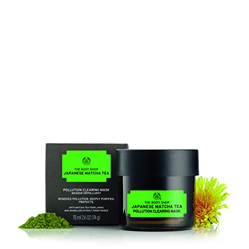 The Body Shop Japanese Matcha Tea Pollution Clearing Mask For Unisex 2.6 oz Mask