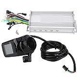 brushless Motor Controller, Panel de Pantalla LCD a Prueba de Agua Bicicleta eléctrica Ebike...