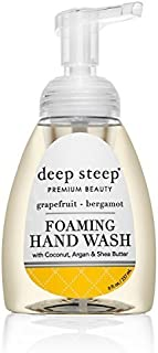 Deep Steep Organic Foaming Handwash Grapefruit Bergamot -- 8 fl oz
