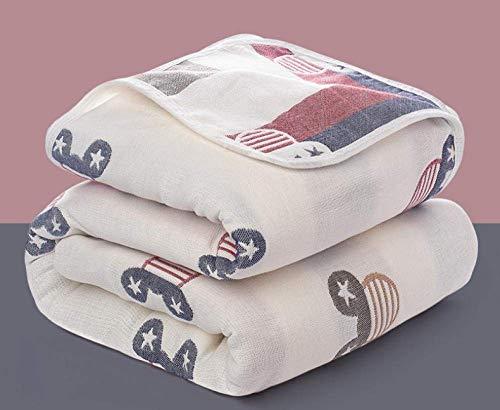 OJPOGHU Toallas de baño, Toalla de algodón Egipcio, 2 Piezas por Juego (Color : Cute Mickey*2, Size : 150 * 200)