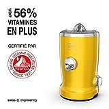 Novis 65110220 Multifunktionsentsafter/Novis Vita Juicer, gelb